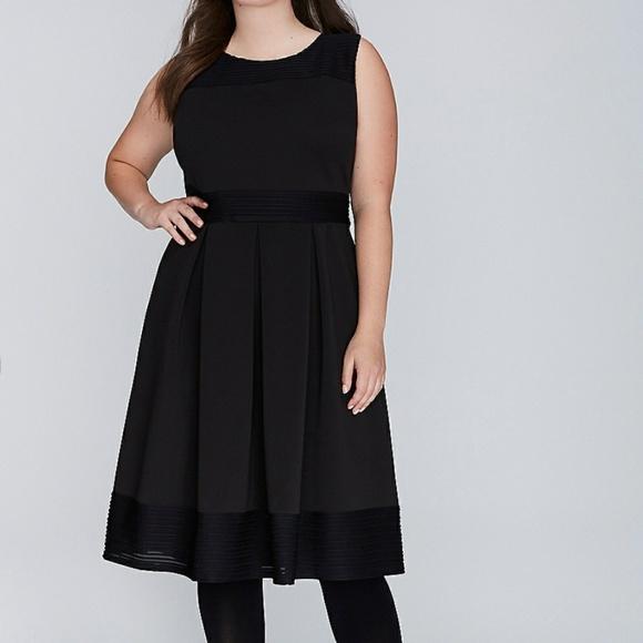 15e62f969776 Lane Bryant Dresses | Fit And Flare Scuba Dress | Poshmark